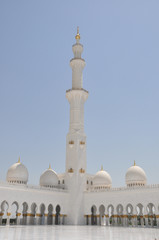 Sheik Zahed Grand Mosque in Abu Dhabi