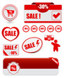 business labels and price tags for  sale and promotion