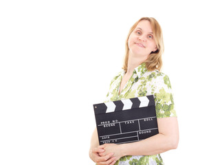 Female producer ready to shoot the new movie