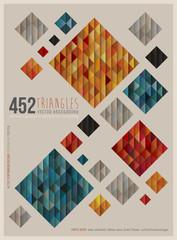 Retro Squares Poster