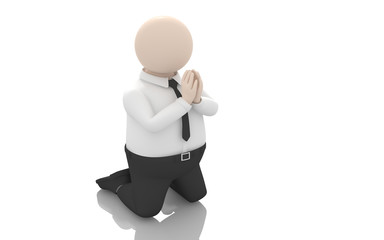 Office scenes (prayer)