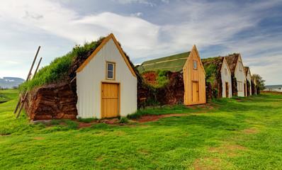 Old traditional Icelandic farm - Glaumber