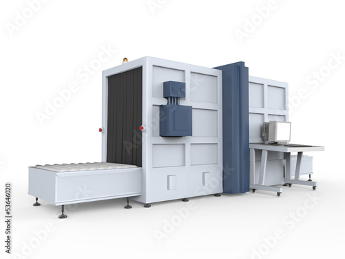 Cargo Screener Isolated