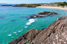 Plage de sable blanc dans Ring of Kerry
