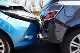 Two Cars Involved In Traffic Accident poster