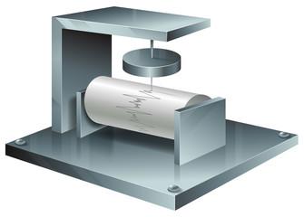 A seismograph