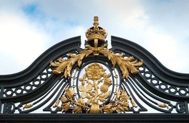 Buckingham Palace fence detail