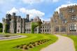 Ashford castle main structure and garden