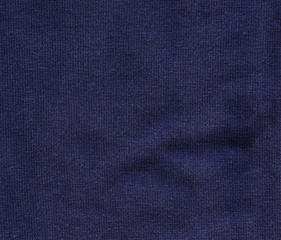 Navy Blue Fabric Background Texture