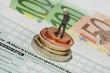Leinwanddruck Bild - Zusatzrente - Sonderausgaben
