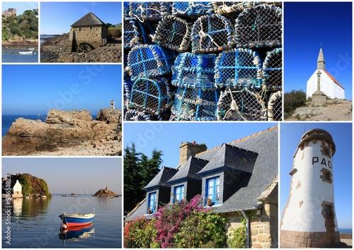 composition photo,île de bréhat,côtes d'armor,bretagne