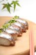 鯵のにぎり寿司