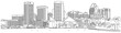 Baltimore-skyline-sketch - 53654454