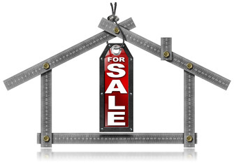 House For Sale - Metal Meter Tool