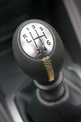 Sportscar gear shifter
