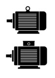 Electric motor icons
