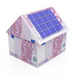 Solar energy savings euro