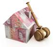 Real estate auction pounds