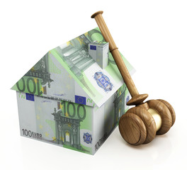 Real estate auction euro
