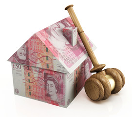 Real estate auction pounds