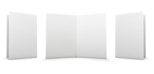 Blank Folder Spread