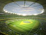 Fototapety Stadion Brasil 2