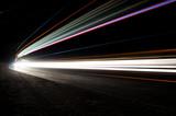 Abstract car lights