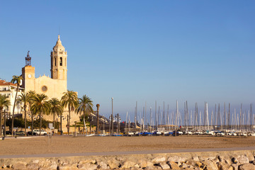 Church of Sant Bertomeu and Santa Tecla in Sitges