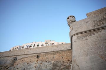 Murallas del Castillo de Peñíscola