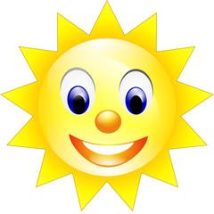 Sonne lacht