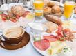 Leinwandbild Motiv Breakfast