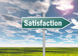 "Signpost ""Satisfaction"""