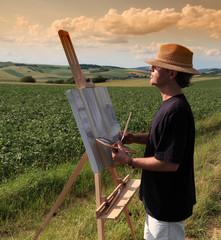 der Landschaftsmaler