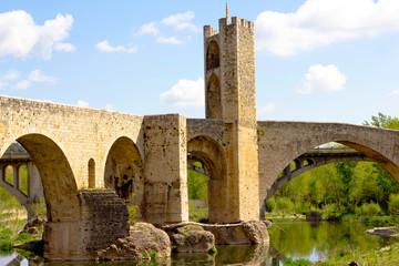 Besalu bridge (Catalonia)