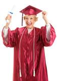 Senior Graduate - Thrill of Achievement poster