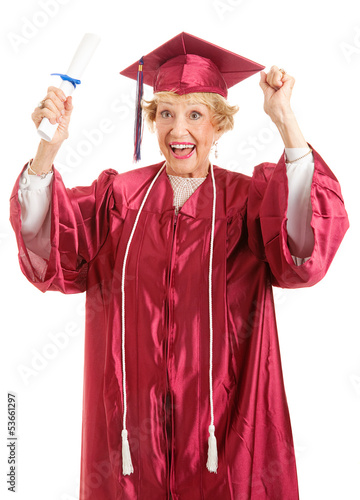 Senior Graduate - Thrill of Achievement