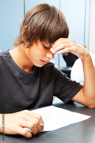 Academic Testing Anxiety