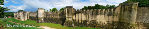 Papiers peints Fortification Panorama Remparts