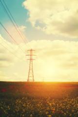 evening pylons