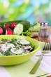 Vitamin vegetable salad in bowl