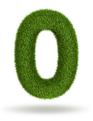 Natural grass number 0