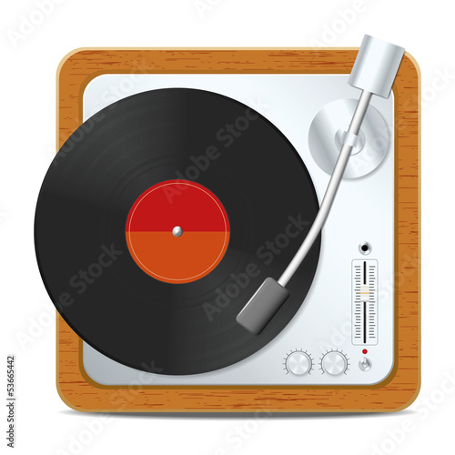 Square turntable