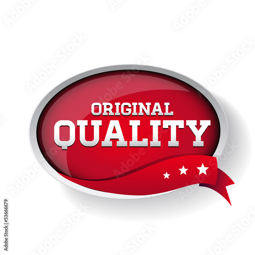 vector original quality label