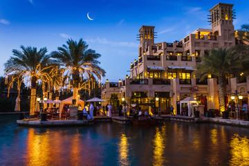 DUBAI, UAE - NOVEMBER 15: View of the  Souk Madinat Jumeirah