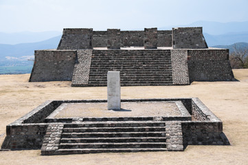 Archaeological site of Xochicalco (Mexico)