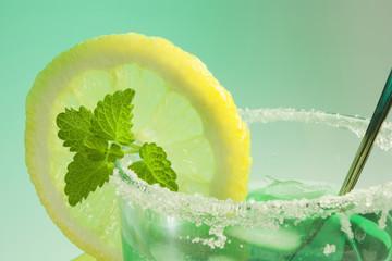 glass of mint