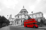 London Routemaster Bus, St Paul's Cathedral - 53668669