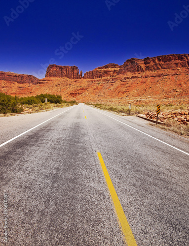 A View from Arches Scenic Drive