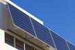 Leinwanddruck Bild - Adjustable solar panels