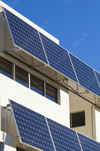 Adjustable solar panels